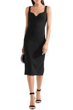 ELIZABETH AND JAMES ELIZABETH AND JAMES WOMAN NEVYN PONTE DRESS BLACK. #elizabethandjames #cloth
