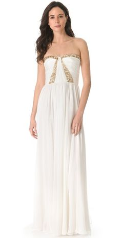 Gorgeous gown by Rebecca Taylor. Hard to believe it's on sale for $268.50! What a steal! #weddinggownsale