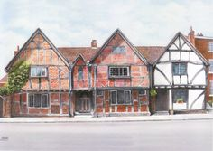 Tudor House by Peter Willis