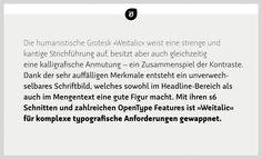 Weitalic. Type family by Wilhelm Eckert.