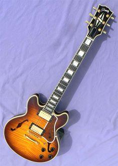 2003 Gibson CS-356, Flame Top Jazz Guitar, Fender Telecaster, Gibson Guitars, Ibanez, Musical Instruments, Bass, Manual, Porn, Electric