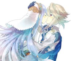 Fire Emblem: If/Fates - Kamui and Aqua