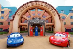 Disney's Art of Animation Resort - Sally and Lightning McQueen