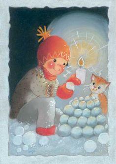 Mignonnes illustrations de Kaarina Toivanen