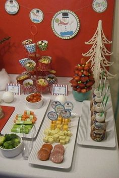Special to the News Sentinel Not all the food has to be junk food, says party planner Mayra Rivera. She put together this holiday table for ...