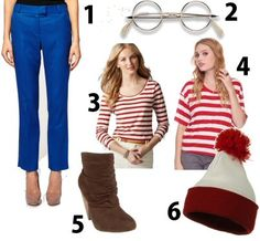 I love Halloween! Easy and office appropriate costume. I maybe dressing as Waldo this year!