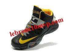 Nike Lebron Zoom Soldier VI Shoes Black/Yellow