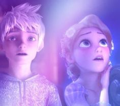 "Jack:""Whoa its.."" Rapunzel:""its Beautiful"" *lanters*"