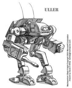 MechWarrior 4 Uller by Mecha-Master.deviantart.com on @deviantART
