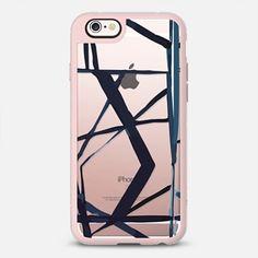 Geometric Lines iPhone Case Katie Kime X Casetify