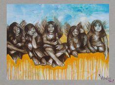 farbengel :klappkarte von dorle koch: theodora auf DaWanda.com