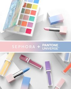 HELL YES. The @sephora Pantone color for 2016 is Rose Quartz and Serenity and you guys know I love pastels! I am 100% here for the 2016 Pantone collection. I want the entire collection I can't even haha. A million times yes #makeup #sephora #pastel #pantone #sephoragotmefuckedup #loudnoises by thepryncess You can follow me at @JayneKitsch