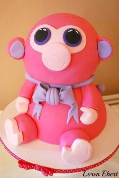 a5b8e01d41d Ty Beanie Baby Cake Cake by TheBakingSheet Beanie Boo Party