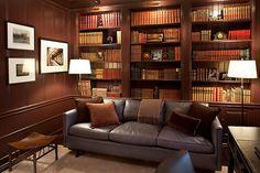 Study, Books, Reading, Furniture, Lighting, Glenn Gissler