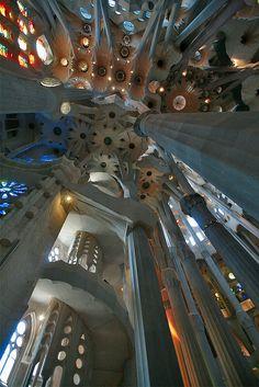 Sagrada Familia by lukasz dzierzanowski, via Flickr