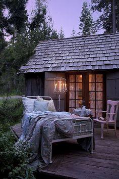 Sleep outside