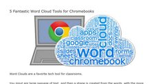 Word Cloud generators that work on Chromebooks