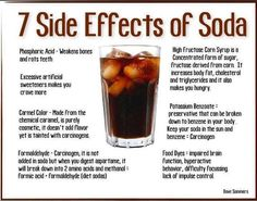 7 Effects of Soda . . . SO glad I don't like soda.  But, if I did, this would change my mind!!