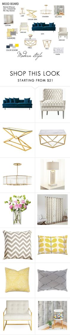 """MOOD BOARD"" by mashaeel-h on Polyvore featuring interior, interiors, interior design, home, home decor, interior decorating, Eichholtz, Hera, Florence de Dampierre and LSA International"