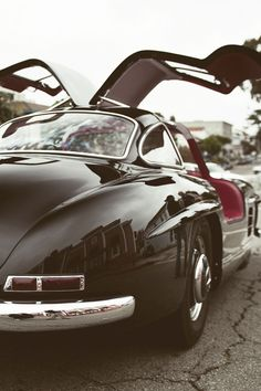 Mercedes Benz #300SL #Gullwing. Via tumblr.com