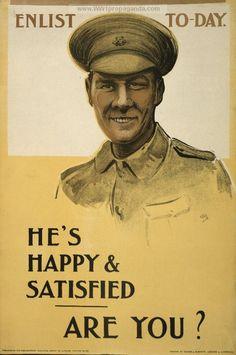 Examples of Propaganda from WW1 | British WW1 Propaganda Posters Page 88