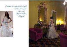 Il mio amore per il jeans...romanticissimo abbinato all'organza..ed in una cornice d'incanto Grand Hotel Tremezzo Alessandro Tosetti Www.tosettisposa.it #Wedding #nozze #abitodasposa #matrimonio #tosetti #tosettisposa