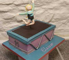 Gymnast Trampoline Cake