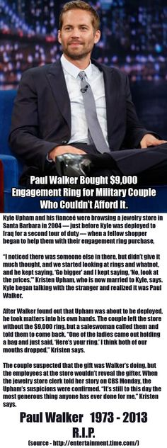 Faith In Humanity Restored – 28 Pics love Paul walker! Michelle Rodriguez, Fast And Furious, This Is Your Life, In This World, Vin Diesel, Dwayne Johnson, I Smile, Make Me Smile, Einstein