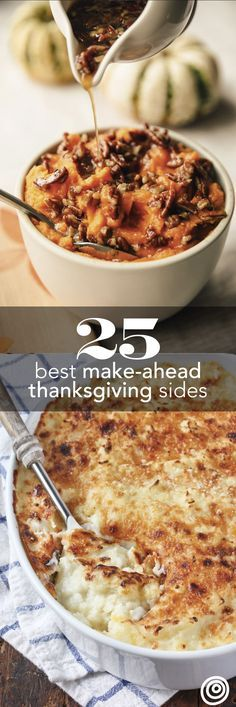 40+ Thanksgiving Side Dishes You Can Make Ahead of Time