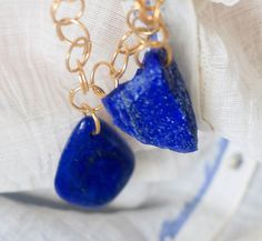 Our new Afghan Turquoise Mountain collection.  Lapis lazuli From Badakshan these…
