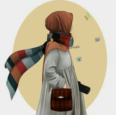 Best Friends Cartoon, Friend Cartoon, Couple Cartoon, Girl Cartoon, Hijab Drawing, Islamic Cartoon, Anime Muslim, Hijab Cartoon, Muslim Girls