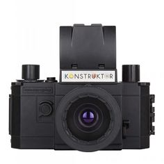 Konstruktor DIY Kit from Lomography. This is a DIY camera kit that allows you to build your own analogue SLR. A great way of developing one's understanding of photography. Lomo Camera, Slr Camera, Camcorder, Latest Camera, Multiple Exposure, Gifts For Photographers, Photographer Gifts, 35mm Film, Diy