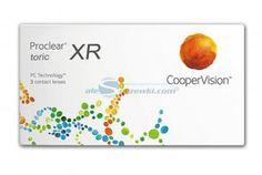 Soczewki kontaktowe Proclear Toric XR 3 szt. - soczewki miesięczne toryczne
