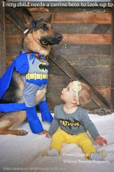 Every child needs a canine hero to look up to