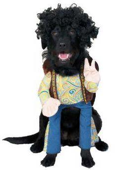 Dog Hippie Costume