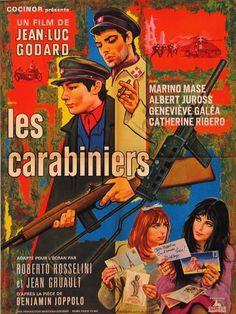 1963,  Les Carabiniers I French I Godard