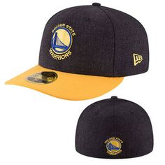 wholesale dealer da22b dbcae Golden State Warriors New Era 59FIFTY Primary Logo Low Profile Change Up Fitted  Cap - Black