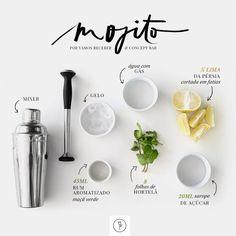 Vamos Receber: Receita Mojito (Foto: Karen Hofstetter)