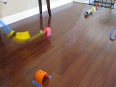 Indoor toddler activities - easy, creative and both my 2 and 4 year old can participate.