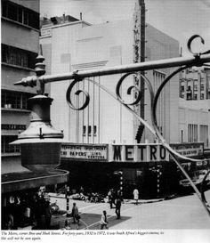 Metro Cinema Johannesburg, known for its enormous Wurlitzer organ