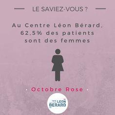 [Octobre Rose] Le Centre Léon Bérard accueille plus de 30 000 patients par an. Parmi eux, plus de 60% sont des femmes.
