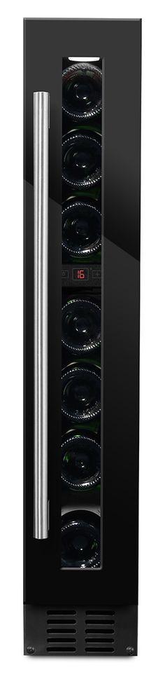 mQuvée inbyggbar vinkyl - WineCave Fullglass black x H: x D: cm) Lockers, Locker Storage, Appliances, Logo, Kitchen, Furniture, Home Decor, Open Floorplan Kitchen, Gadgets