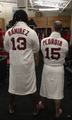 Hanley Ramariz and Dustin Pedroia.