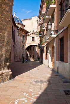 El encanto de las calles de #Valencia