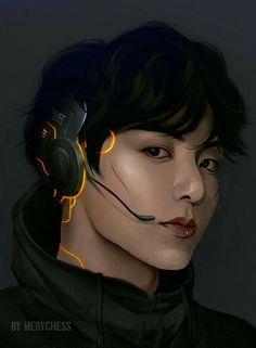 Alguém curte RPG? Foto Jungkook, Foto Bts, Jimin, Jikook, Fan Art, Fansite Bts, Taehyung Fanart, Bts Beautiful, Bts Drawings
