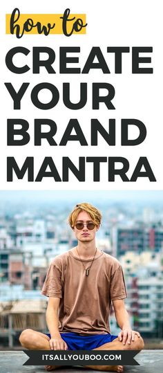 What's your brand mantra? Your personal brand manta is not only fundamental to how others perceive and interact with you and your brand but for how YOU perceive your brand and yourself. Create yours today with this FREE 3-Step Printable Workbook.
