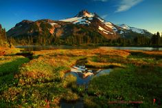 Evening Light On The Jefferson Reflected in a Tarn Behind Russel by Randall J  Hodges on 500px