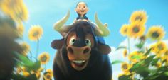 Second # Ferdinand Movie About a Bull Who Loves Flowers #Movies #about #ferdinand #flowers #loves