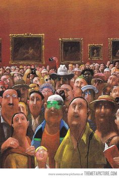 Mona Lisa's Point of View…