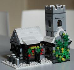 Winter Village: Kirk by HundredHander on EB